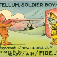 3366. You Tellum, Soldier Boy!