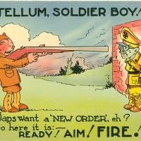 3366. You Tellum, Soldier Boy!
