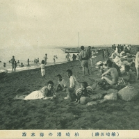 2193. Sea Bathing in Kashiwazaki Bay (Famous Sites of Kashiwazaki)