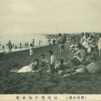 2193. Sea Bathing in Kashiwazaki Bay (Famous Sites of Kashiwazaki)