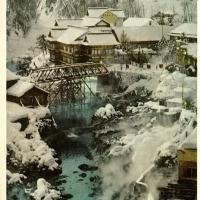 2303. Jozankei spa lying in the suburbs of Sapporo City