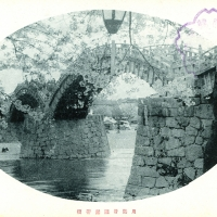 2306. Kintai Bridge at Iwakuni, Suo Province