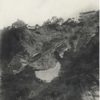 2865. A View of the Cable Car from the Mountaintop (Famous Sites of Rokkō)