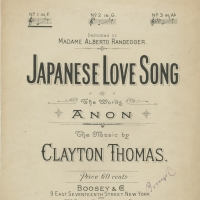3249. Japanese Love Song (1900)