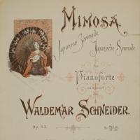 3040. Mimosa (Japanese Sérénade - Japanische Serenade, 1898)