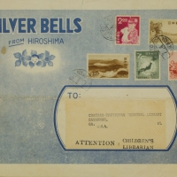 2081. Mailing Envelope for Silver Bells from Hiroshima magazine