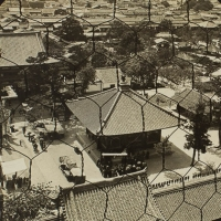 1962. Looking from Tennoji Pagoda West over Osaka, Japan (n.d.)