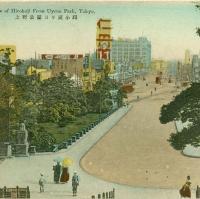 2907. View of Hirokoji from Uyeno Park, Tokyo