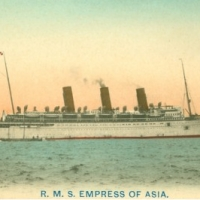 1121. R.M.S. Empress of Asia