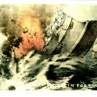 2622. Russia Man-of-War in Port